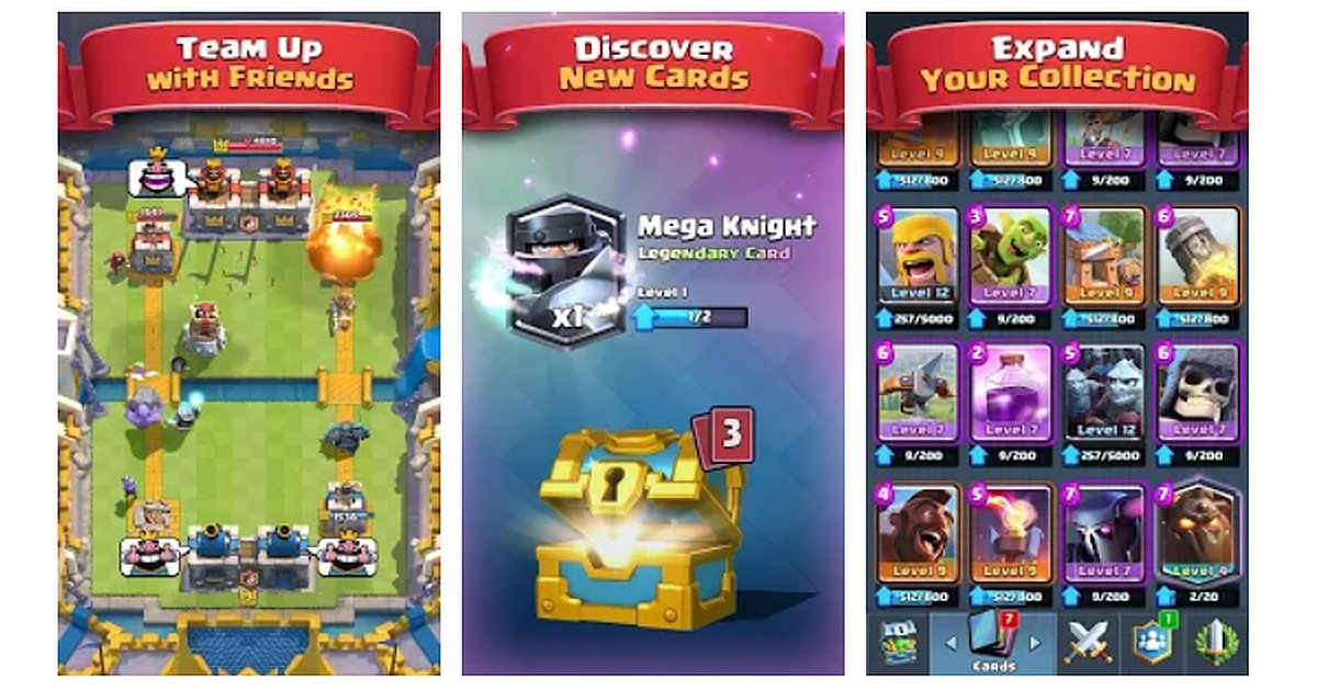 Download Clash Royale for Motorola