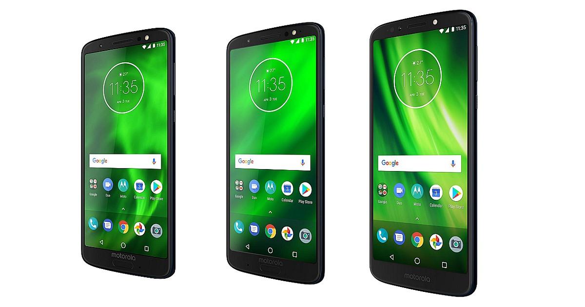 Motorola Moto G6, Moto 6 Plus and Moto G6 Play are here!